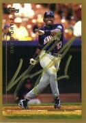 Red Sox Autographed Card