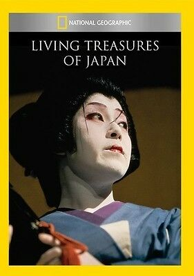 National Geographic: Living Treasures of Japan (2014, DVD NEUF) DVD-R ()