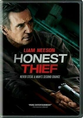 Honest Thief (DVD,2020)NEW* Liam Neeson* PRE-ORDER SHIPS ON 12/29/2020