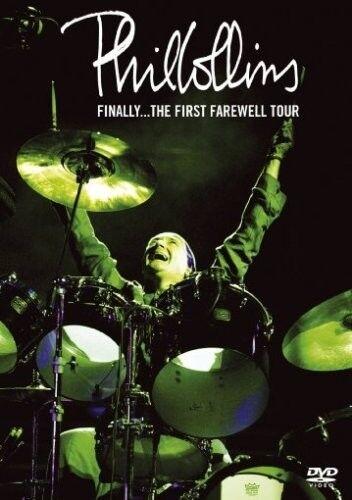 """PHIL COLLINS """"FINALLY...THE FIRST FAREWELL.."""" 2 DVD NEU"""