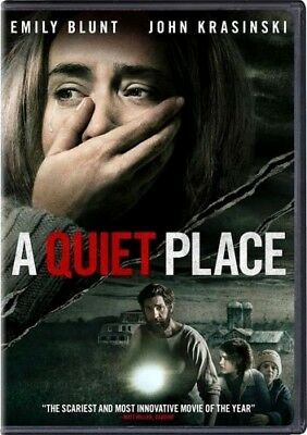A Quiet Place  Dvd 2018  New  Drama  Horror  Pre Order Ships On 07 10 18