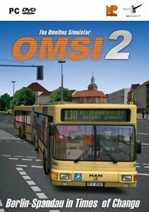 OMSI Bus Simulator 2 PC DVD New & Sealed Boxed Game FREE DELIVERY UK P&P