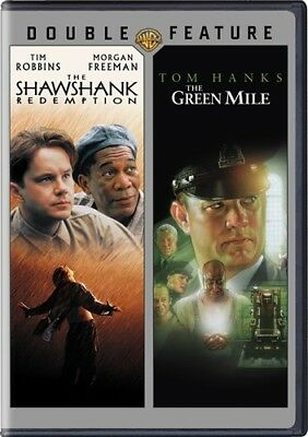 The Shawshank Redemption   The Green Mile New Sealed 2 Dvd Double Feature