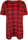 Plaid T-Shirt Tops for Women