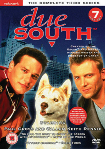 DUE SOUTH the complete third series 3. 7 disc box set. New sealed DVD.