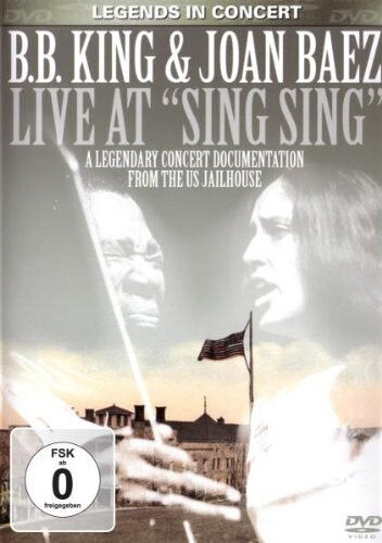 DVD B.B.King and Joan Baez Live At Sing Sing
