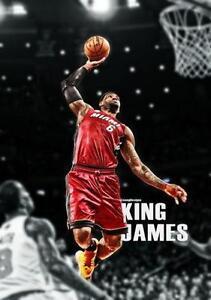 Lebron James MVP Poster