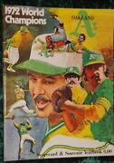Oakland A'S Yearbook