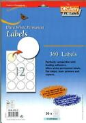 Avery Round Labels