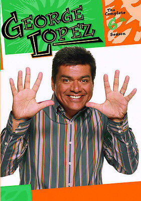 George Lopez Show  Complete Sixth Season 888574347291  Dvd Used Very Good