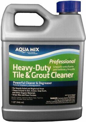 Powerful Tile & Grout Cleaning & Degreasing Liquid for Clean & Shiny Floor (1qt)