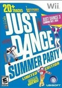 NINTENDO WII GAME JUST DANCE SUMMER PARTY *BRAND NEW & SEALED*