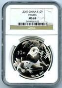 Silver Panda Proof