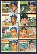 1956 Baseball Card Lot