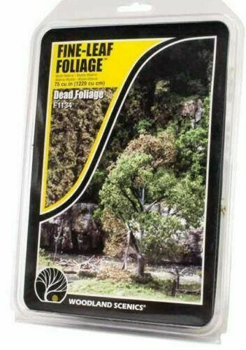 Woodland Scenics ~ New 2020 ~  Fine-Leaf Foliage Dead Foliage ~ F1134