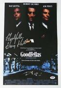 Goodfellas Signed