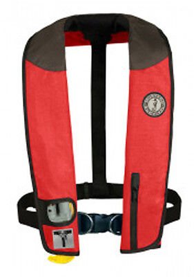 Mustang Sailing Harness (Mustang Survival Deluxe Inflatable Collar PFD with Sailing Harness (Auto-Inflate )