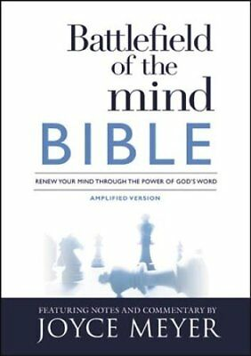 Battlefield of the Mind Bible : Renew Your Mind Through the Power of God's...
