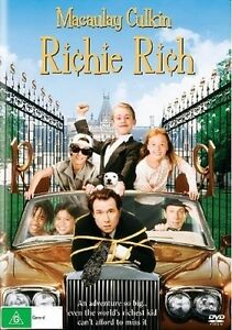 RICHIE-RICH-DVD-1994-NEW-ALL-Region-Macaulay-Culkin-Ri-hie-Ri-h-Donald-Petrie