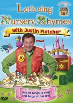 Let's Sing Nursery Rhymes with Justin Fletcher  **Brand New DVD**