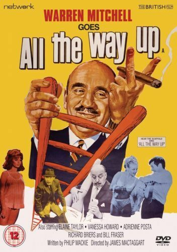 ALL THE WAY UP. Warren Mitchell, Elaine Taylor, Richard Briers. New Sealed DVD.