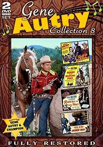 Gene Autry: Movie Collection 8 - 2 DISC SET (2014, REGION 1 DVD New)