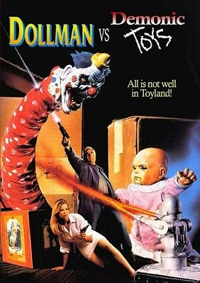 Demonic Toys (DOLLMAN VS DEMONIC TOYS New Sealed DVD )