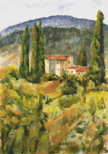 Tuscan Painting Ebay