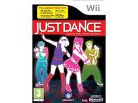 NINTENDO WII JUST DANCE DANCING GAME