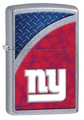Zippo 29371, New York Giants, Logo, NFL, Street Chrome Finish Lighter