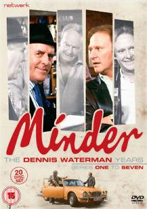 Minder: The Dennis Waterman Years DVD (2018) George Cole ***NEW***