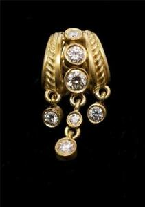 Judith Ripka 18k Earrings