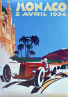 Canvas Car Racing Decorative Posters & Prints