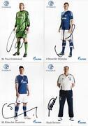 Schalke Autogrammkarten