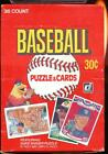 1984 Donruss Wax Box