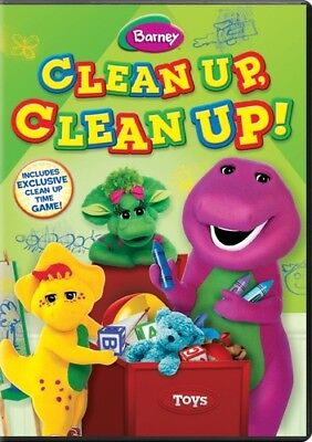 Barney: Clean Up, Clean Up! [New DVD]