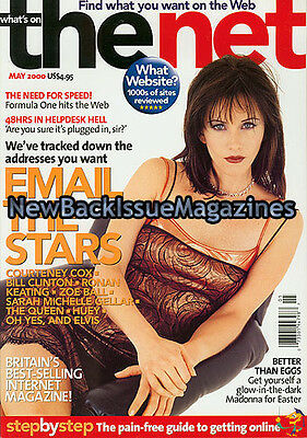 Uk The Net 5 00 Courteney Cox May 2000 New