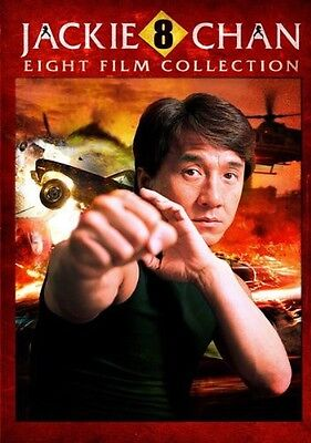 Jackie Chan 8 Film Collection Dvd