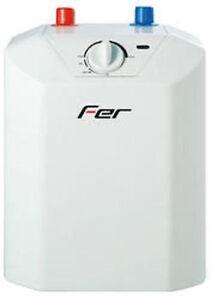 Scaldabagno elettrico fer 5 litri con termostato sopra lavello attacchi in basso ebay - Scaldabagno elettrico istantaneo basso consumo ...