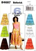 Tiered Skirt Pattern