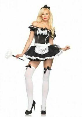Fifi French Maid Costume (Leg Avenue French Maid Fifi 2 pc. Adult)