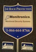 Brinks Security Signs