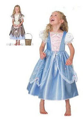 DISNEY Princess CINDERELLA Rags to Riches Reversible Fancy Dress COSTUME - Reversible Cinderella Kostüm