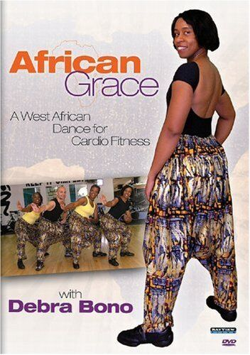 AFRICAN GRACE: WEST AFRICAN DANCE FOR CARDIO - DVD - Region Free