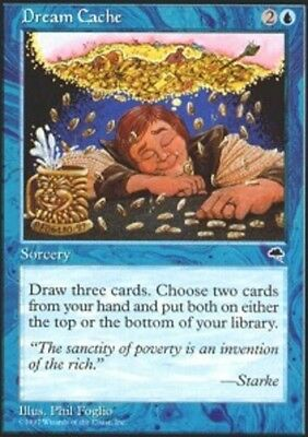 Dream Cache - 4x Dream Cache MTG Tempest NM Magic Regular