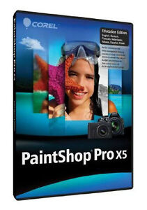 PaintShop Pro X5 - Education Edition - $30.00