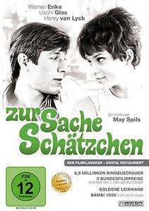 DVD * ZUR SACHE SCHÄTZCHEN | WERNER ENKE , USCHI GLAS # NEU OVP §