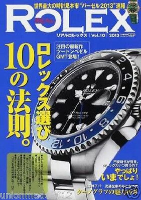 REAL ROLEX Vol.10 Japanese magazine catalog Book cassis how to choose vtg F/S