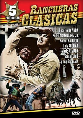 Rancheras Clasicas - 5 Peliculas (DVD - New/Sealed) ** Free Shipping on 5+