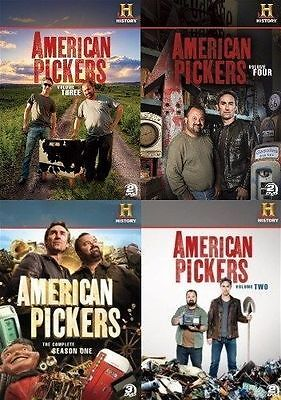 American Pickers Tv Series Complete Season Volume 1 4  1 2 3   4  New Dvd Set